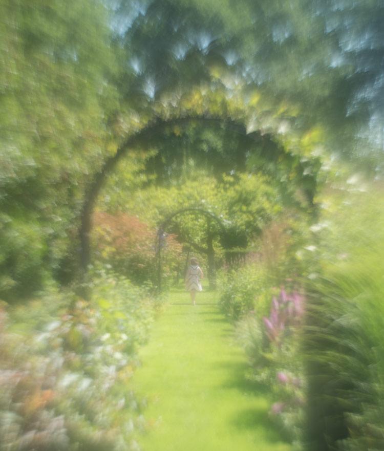 impressionistisch- doorkijkje