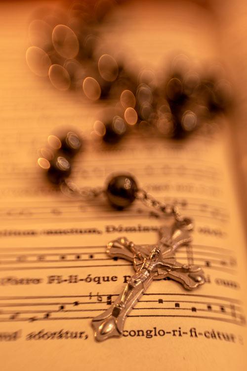 rozenkrans -op -bijbel